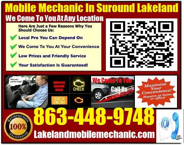 Mobile Mechanic Lakeland Auto Car Repair Service Tech Shop Near Me