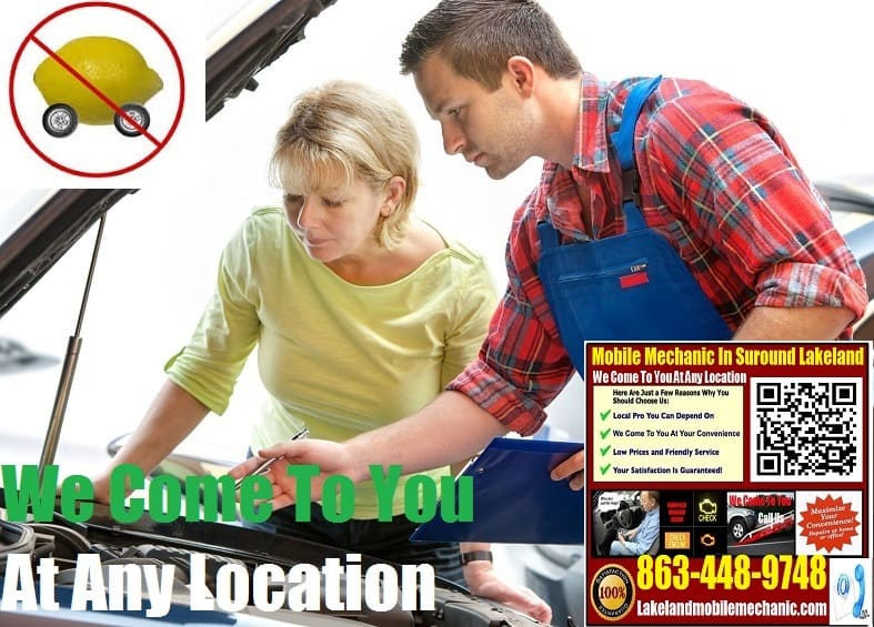 Pre Purchase Car Inspection Lakeland Mobile Auto Mechanic Vehicle Service