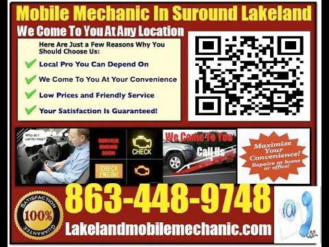 Mobile Auto Mechanic Winter Haven Pre Purchase Car Inspection